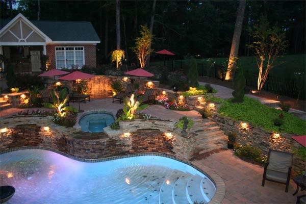 Lighting - Backyard Landscaping