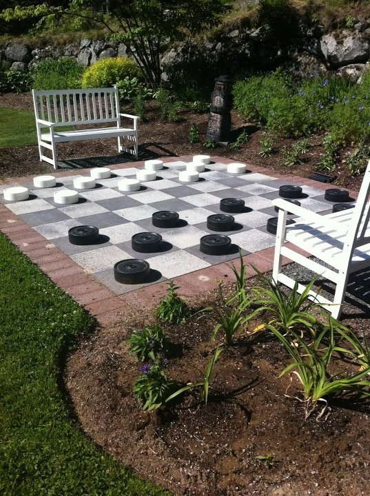 Outdoor Games - Backyard Lanscaping