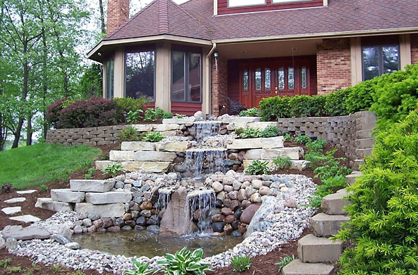 Water Features - Backyard Landscaping